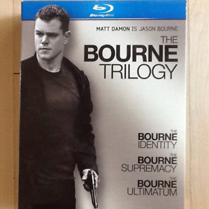 BLUE RAY THE BOURNE TRILOGY