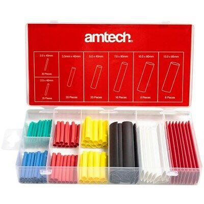 127pc Colorido Film Transparente Tubos Pequeño - Grande 600V Cable Eléctrico