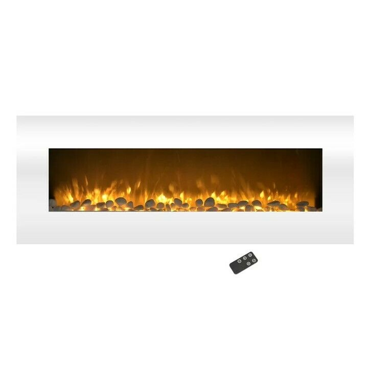 """50"""" Electric Wall Mount Fireplace"""