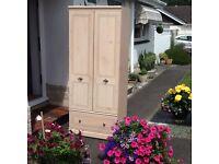 Maple wardrobe- single