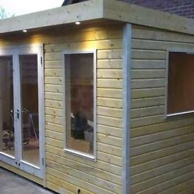 New high quality garden rooms summer houses, sheds, playhouses