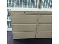 FREE SAME-DAY DELIVERY - 3 Drawer Lateral Filing Cabinet