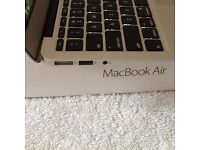 """MACBOOK AIR 13"""" i5 INSTALLED MICROSOFT OFFICE GREAT WORKING CONDITION In Box 2013 Professional"""