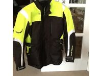 Motorcycle Jacket - Frank Thomas brand. Only used for 3 test rides but not now buying a motorcycle