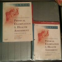 Jarvis Health Assesment Book. Workbook and Textbook bundle