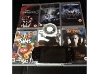 Psp very good condition with games and charger