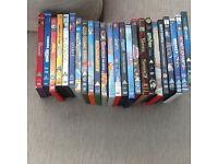 24 childrens DVDs