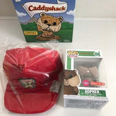 Funko Pop Caddyshack   Gopher Target Exclusive #724 Flocked   & HAT