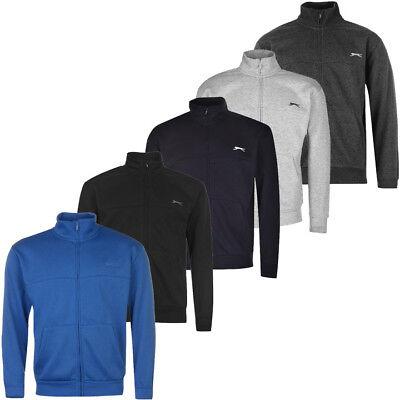 Slazenger Herren Zipper Sweatjacke Gr. S M L XL 2XL 3XL 4XL Sweat Jacke Top neu - 3xl Jacke