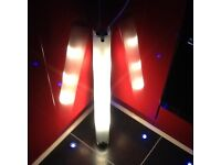 Modern LED wall light with frosted glass cover,very low energy consumption,only £10,pos loc delivery