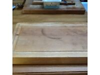 Solid wood chopping board