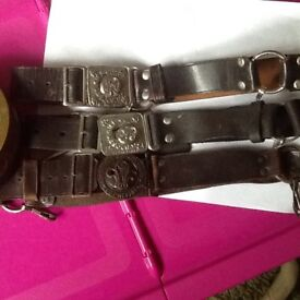 Belts old scouts guides