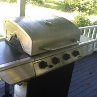 Stainless steel BBQ 48,000 btus