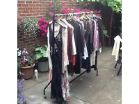 assorted ladies clothes lots of designer names also selection of shoes