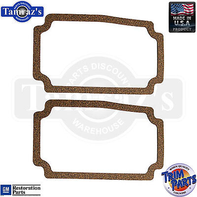 56 Chevy Parking Light Lamp Turn Signal Lens GASKETS ONLY - PAIR Made in USA