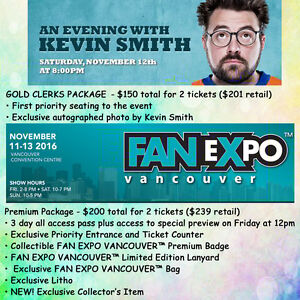 Fan Expo Vancouver and Kevin Smith