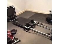 Aeropilates workout unit.