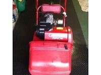 Suffolk Punch Petrol Cylinder 14S Lawnmower Self Propelled