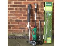 Long reach electric hedge trimmer - used twice new condition