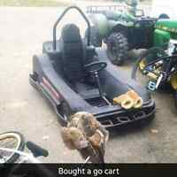 Go cart for trade or sell