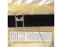 Vintage Apple key boards