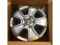 "Volkswagen Amarok NEW GENUINE OE 16"" Silver Alloy Wheel Ronal 2H0 071 496"