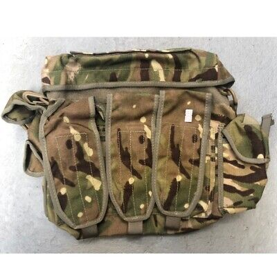 BRITISH ARMY AMMO GRAB BAG MTP CAMOUFLAGE AMMUNITION PACK ISSUED SURPLUS