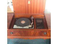 GARRARD SP MKIV deck with Dynatron SRX 20 stereo tuner amplifier