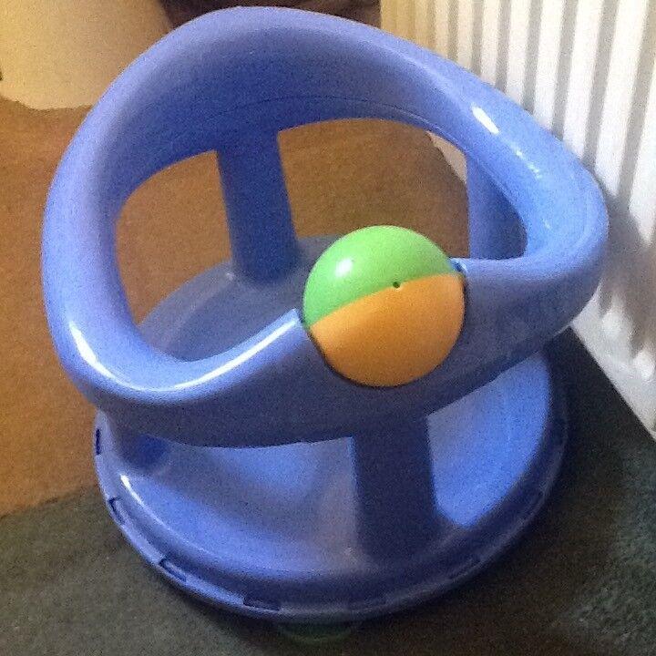 Baby Swivel Bath Seat (6-12 mths, blue) | in Wrexham | Gumtree