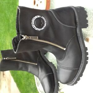 Womens Harley Davidson leather  riding boots