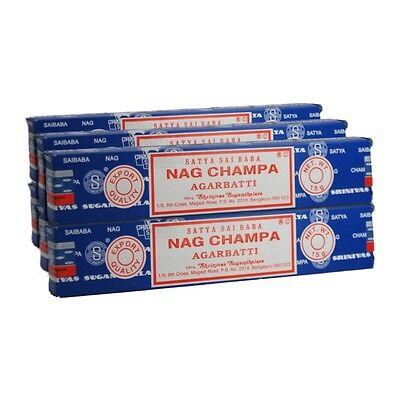 3 Packs Origional Satya Sai Baba NAG CHAMPA Incense Sticks Joss Insence 15g