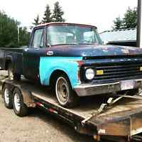 1963 Ford parts truck