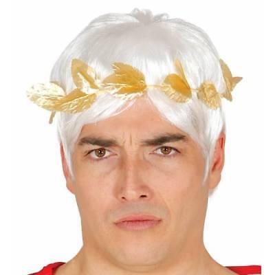 Gold Cäsar Laurel Blatt Römische Krone Griechische Kopfbedeckung Kostüm - Römische Kopfbedeckung Kostüm