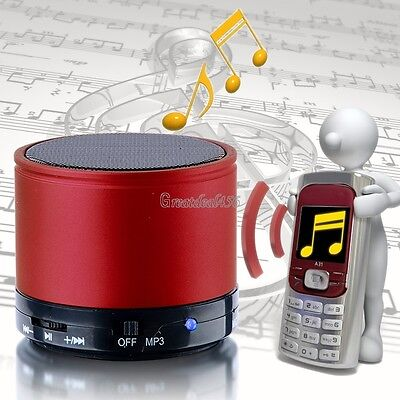 Bluetooth Wireless Mini Portable Speaker Stereo Speakers For iPhone Samsung MP3 on Rummage