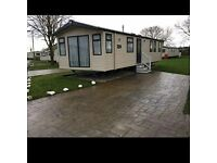 caravan for hire at flamingo land