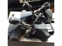 Thule roof rack feet x 4 for VW Beetle models 1997-2011 £15