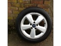 Ford 16 in 5 stud alloys new tyres