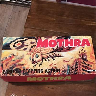 Very Rare Vintage Item From JAPAN Biriken Mothra Wind up flapping action F/S