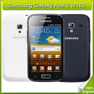 Original Unlocked Samsung Galaxy Ace 2 I8160 mobile phones 5.0MP 3G 3.8