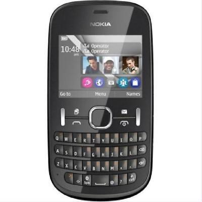 Original Nokia Asha 200 2MP Dual SIM 2G GSM 900 1800 QWERTY Keyboard Smartphone Dual Sim Qwerty Keyboard