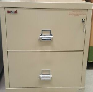 2 Drawer Fire King Cabinet