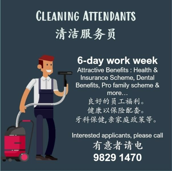 Cleaning Attendants