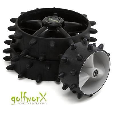 NEW HEDGEHOG MOTOCADDY S1/S3 ELECTRIC WINTER WHEELS (COMPLETE KIT)5