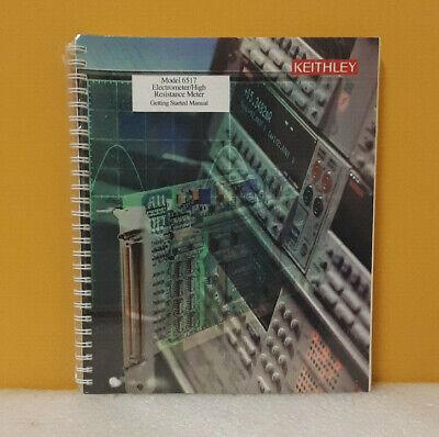 Keithley 6517-903-01b 6517 Electrometerhigh Resistance Meter Starting Manual