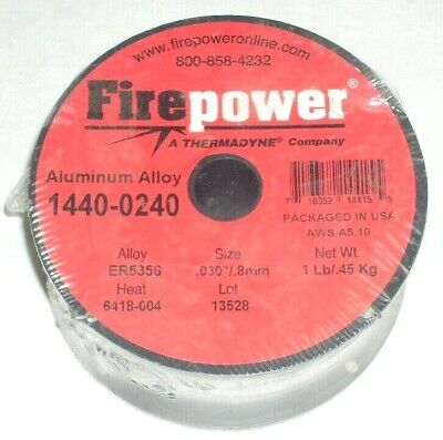 2 Victor Firepower 1440-0240 Aluminum Mig Welding Wire 5356 .030 1 Lb Rolls