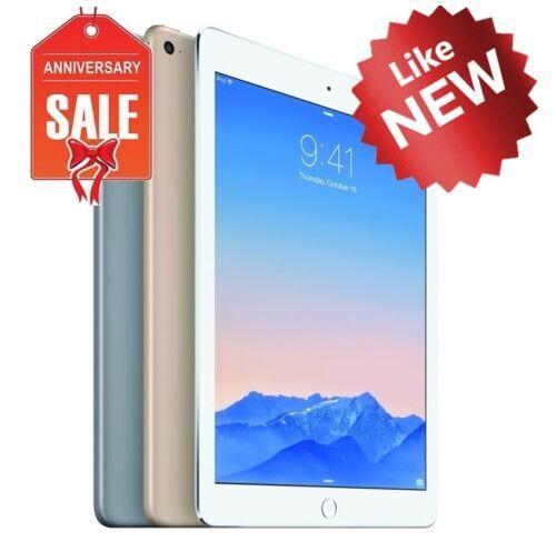 Apple iPad Mini 3 WiFi + Cellular Unlocked I 16GB 64GB 128GB I Gray Silver Gold