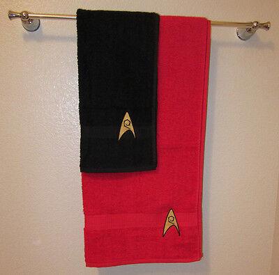 Star Trek Hand & Bath Towel set, Engineering Division