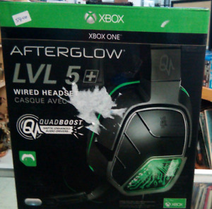 PDP Afterglow LVL 5 Plus Stereo Headset for Xbox One