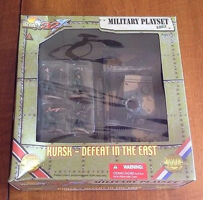 Ultimate Soldier Kursk Defeat In The East Military Playset German Panther Tank