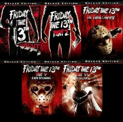 Lot of 11 Horror Movies (Friday the 13th, Halloween, and More)
